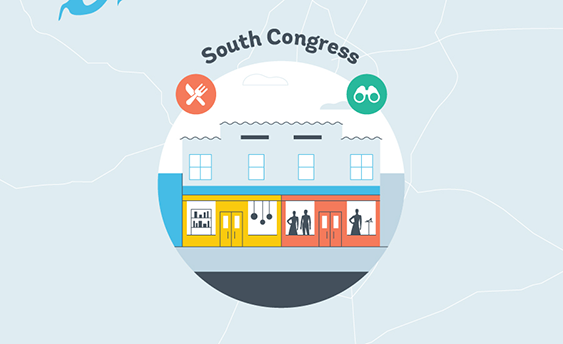 south congress graphic