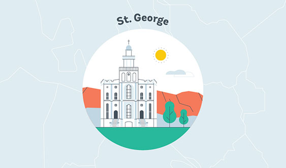 st. george utah graphic