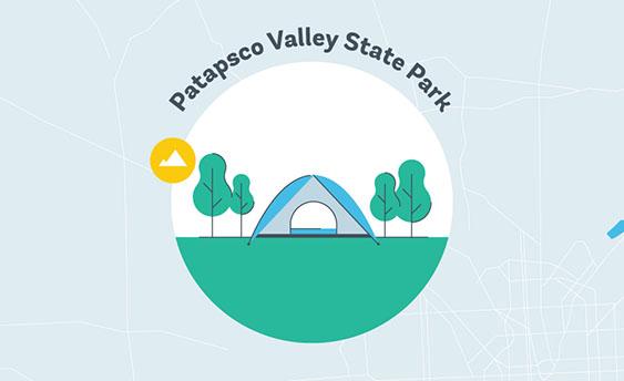patapsco valley state park graphic