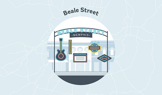 Beale Street Graphic