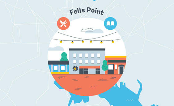 fells point grapic