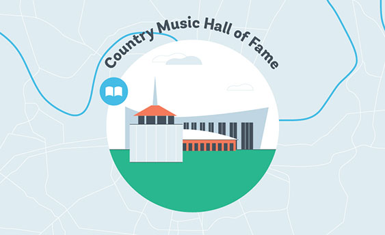 country music hall of fame graphic