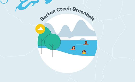 barton creek greenbelt graphic