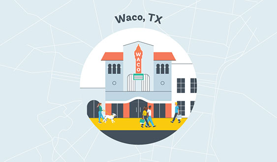waco tx graphic