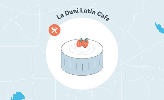 la duni latin cafe graphic