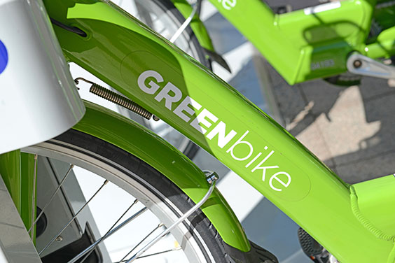 green bike bike sharing