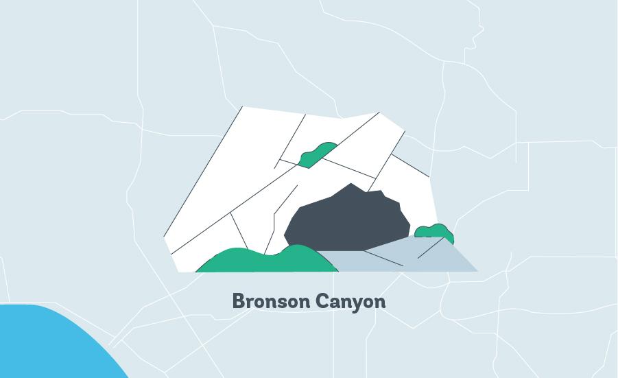 bronson canyon graphic