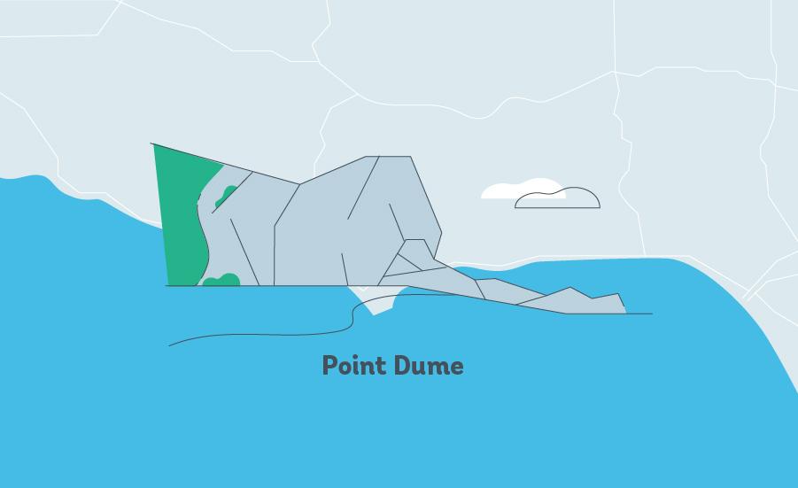 point dume graphic LA