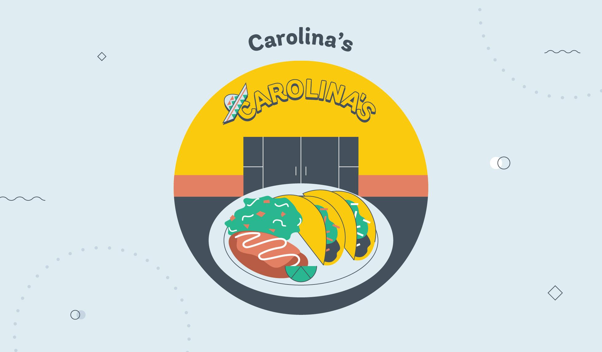 Carolina's tacos Phoenix graphic