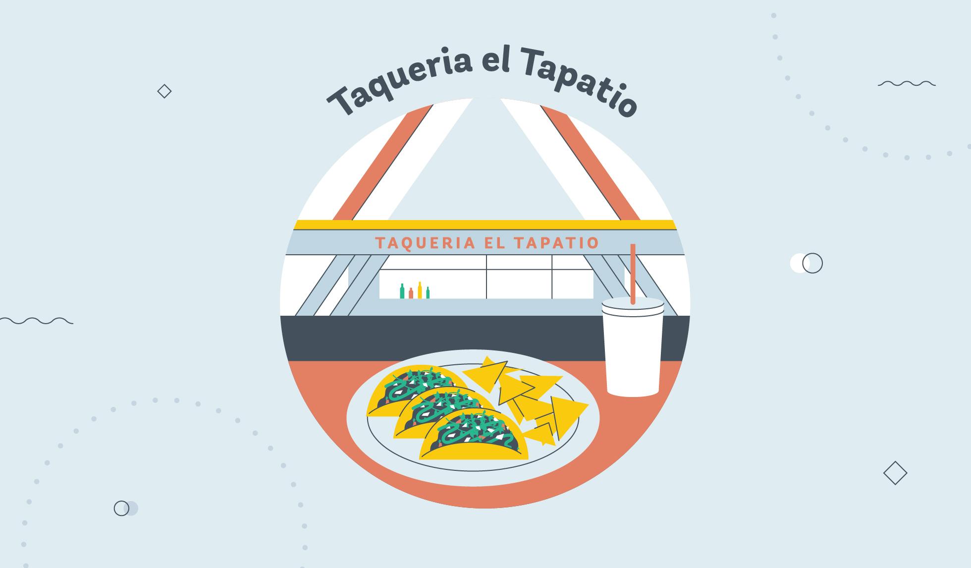 Taqueria El Tapatio graphic