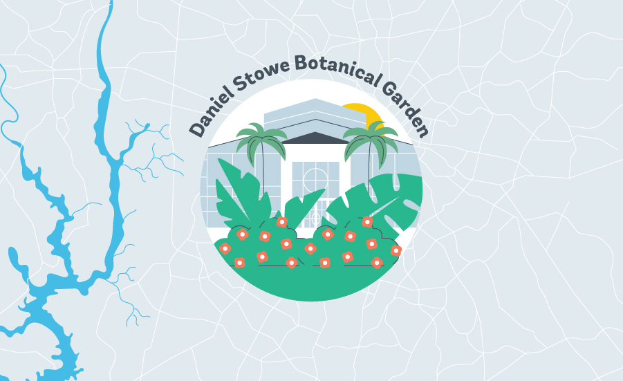 Daniel Stowe Botanical Garden graphic