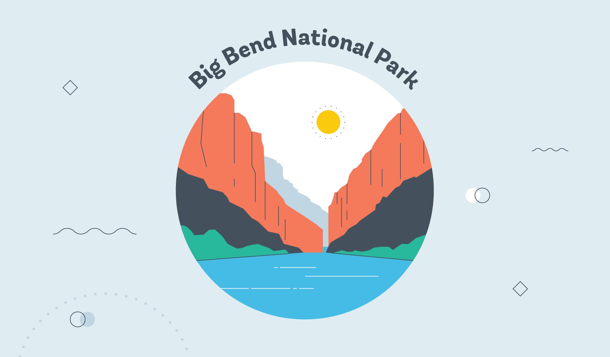 big ben d national park graphic