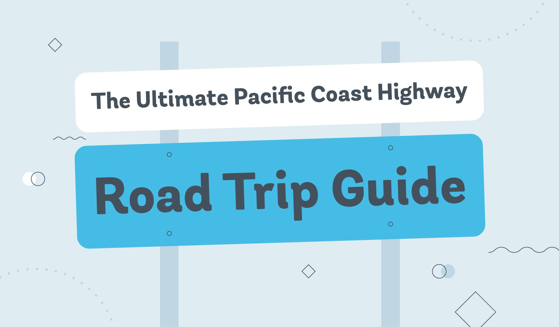 pacific coast highway graphic