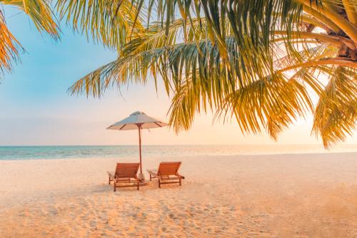 beach vacation spot