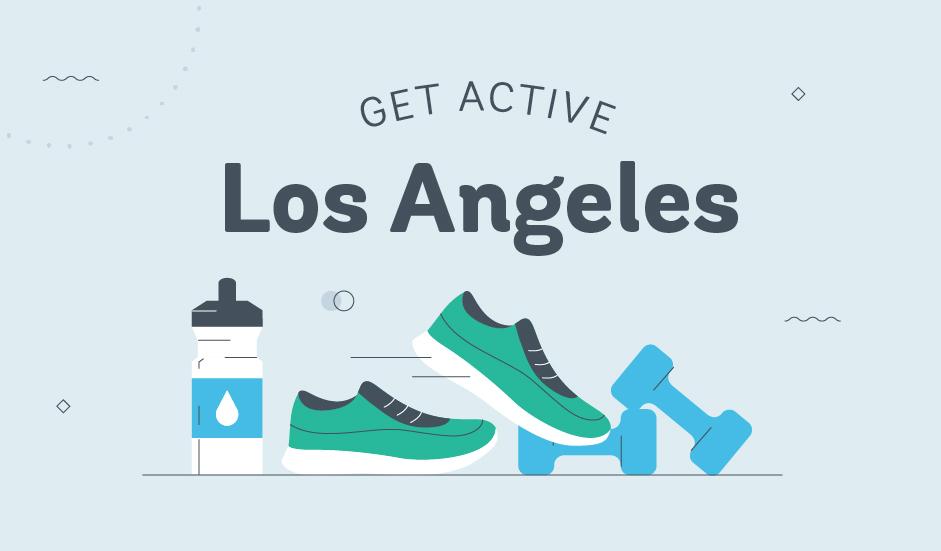 get active los angeles graphic