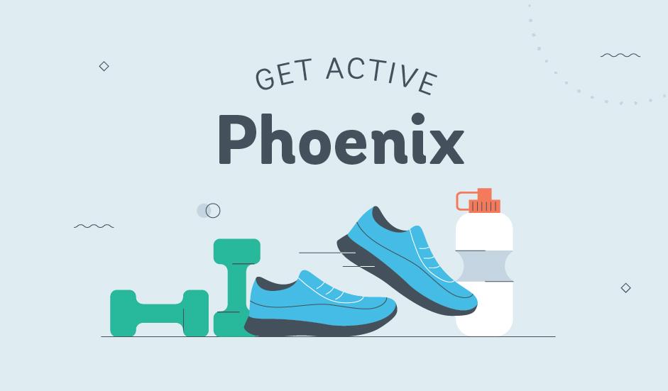 Get Active: Phoenix car sharing graphic