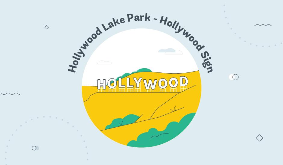 Hollywood Lake Park - Hollywood Sign