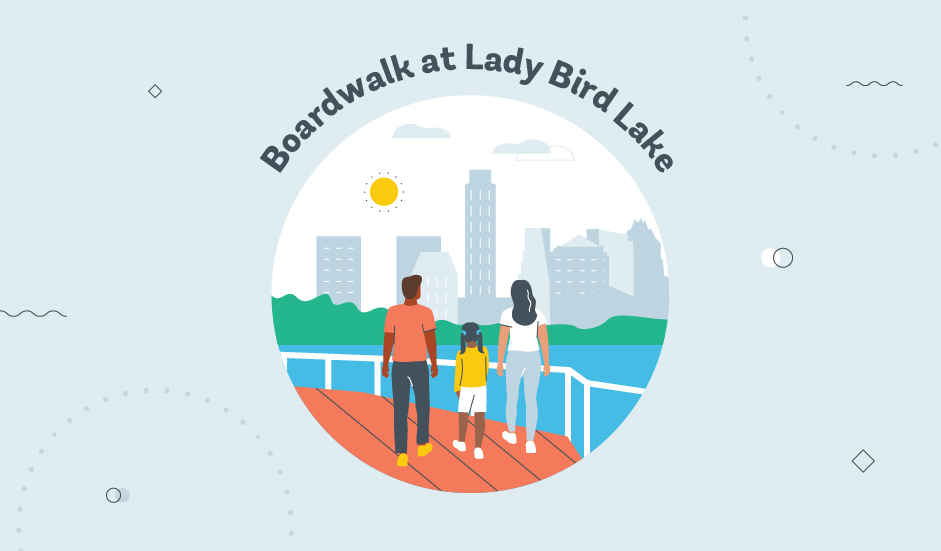 Boardwalk at Lady Bird Lake