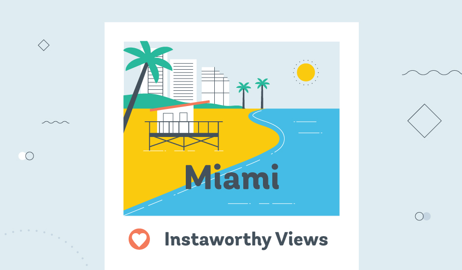 instaworthy views graphic from avail car sharing