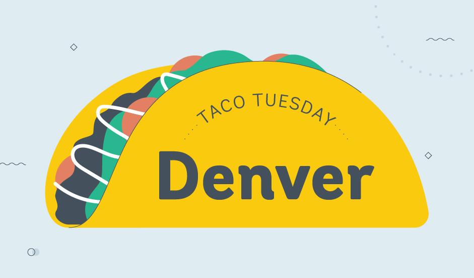 taco tuesday denver graphic