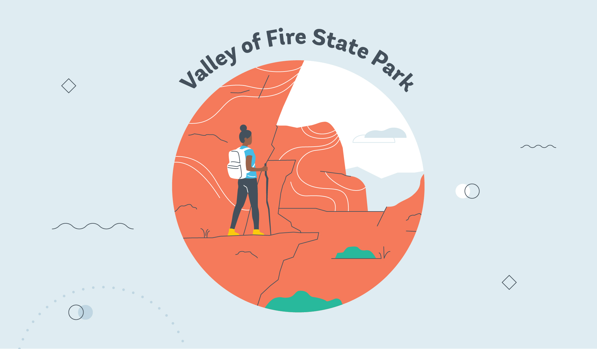 Valley of Fire State Park graphic
