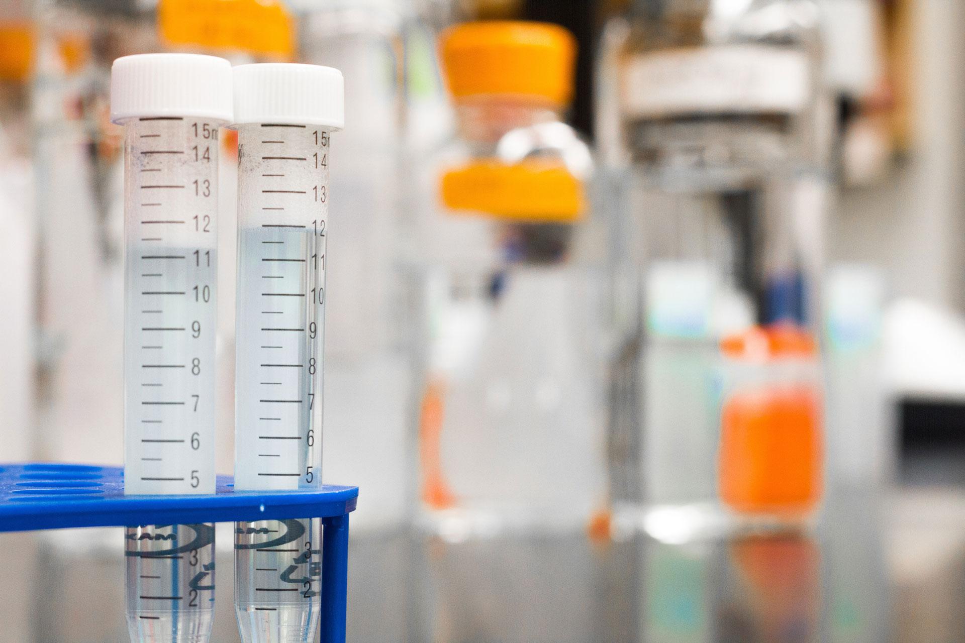 Laboratory tubes and jars