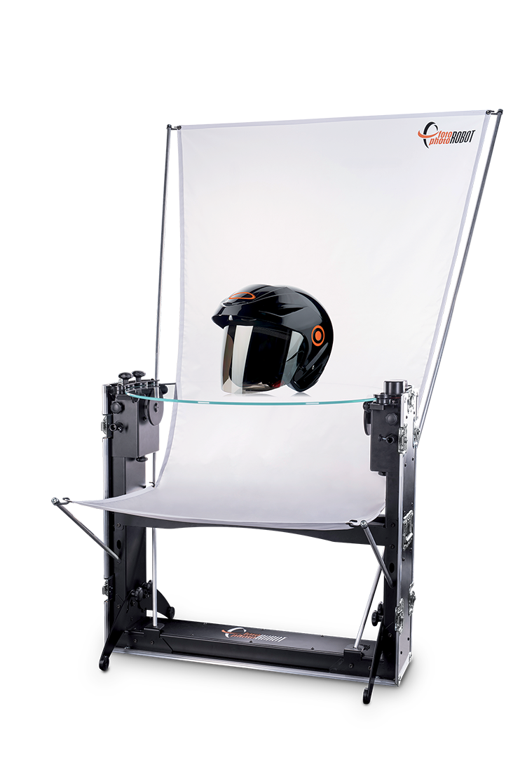 PhotoRobot CASE sa fotografisanim objektom