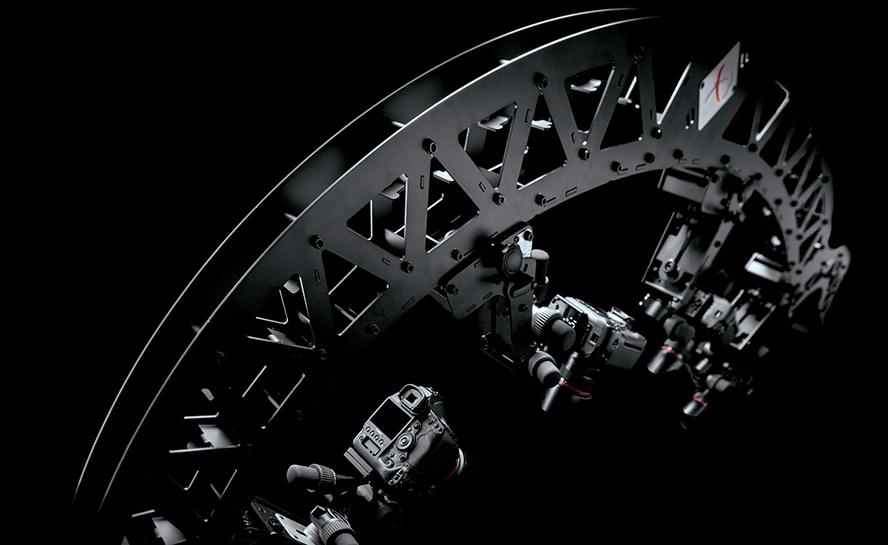 PhotoRobot MULTICAM - egitura makina besoa