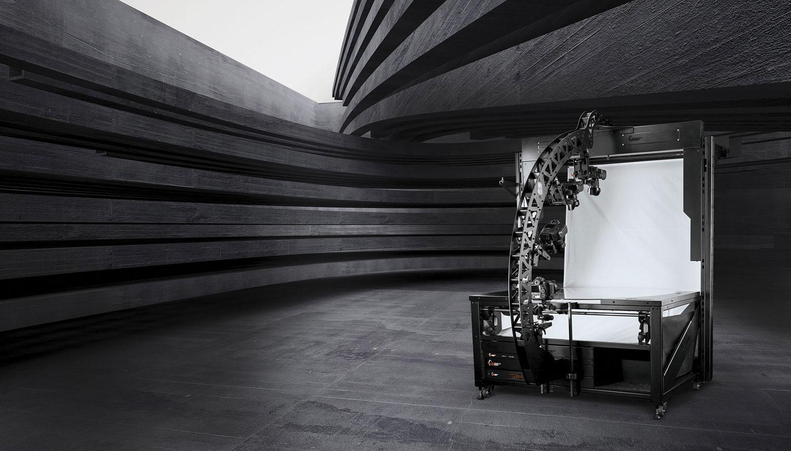 PhotoRobot Robotikoa TURNTABLE rekin MULTICAM kamera robot tripodea