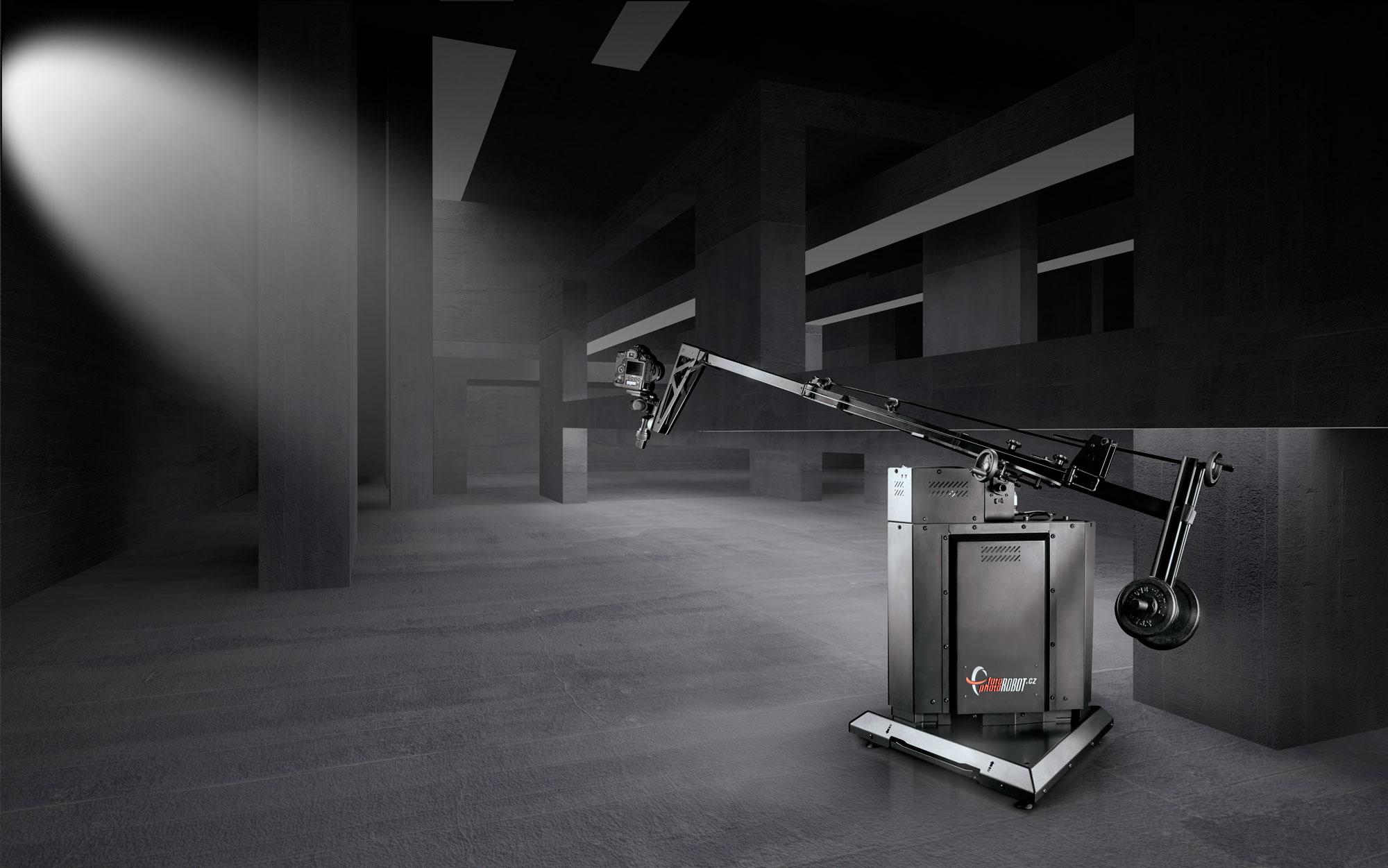 PhotoRobot ROBOTIC ARM با پس زمینه استودیو
