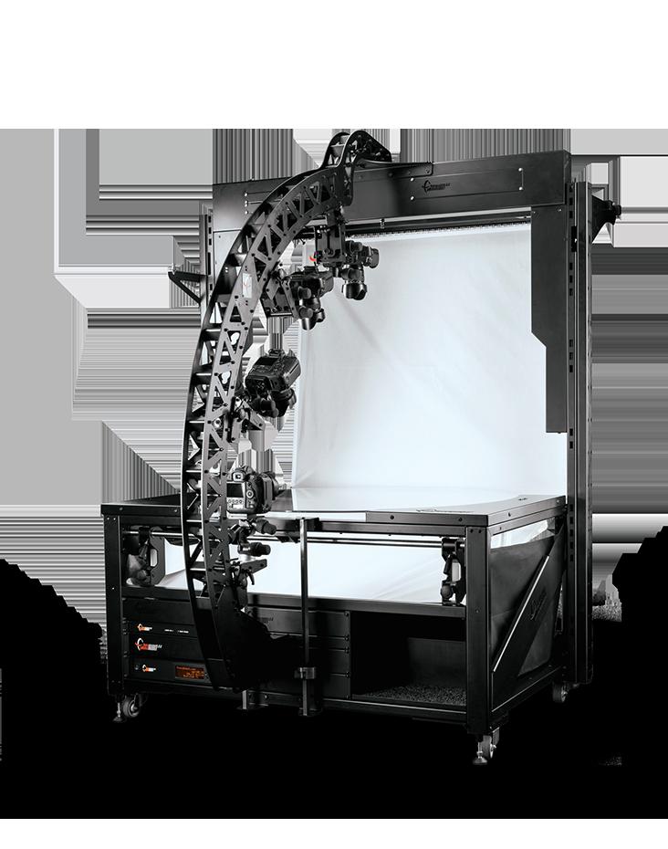 PhotoRobot Robotiko TURNTABLE 1300 mm handi bat MULTICAM kamera tripode robotiko