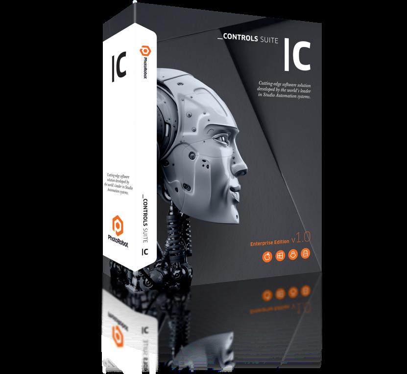 PhotoRobot Елементи керування - програмний пакет для автоматизованого виробництва зображень