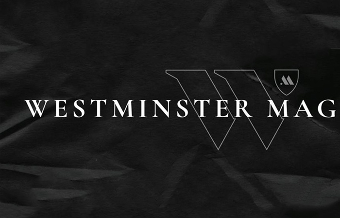 Westminster Magazine logo treatment