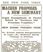 old news article