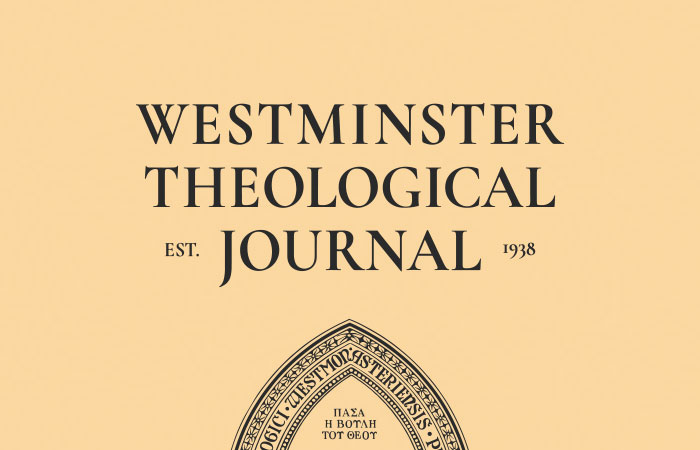Westminster Theological Journal