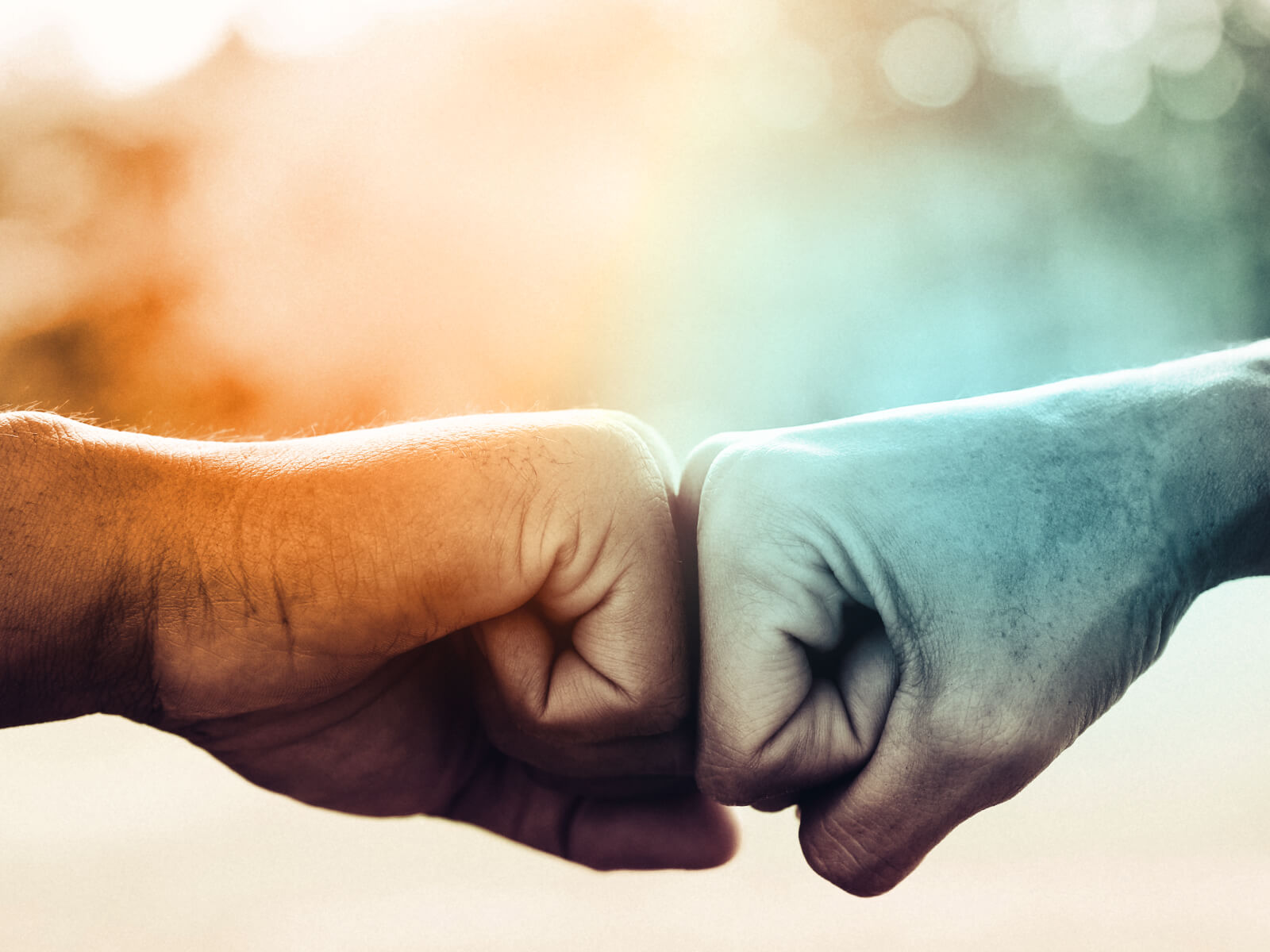 Building trust through decentralization