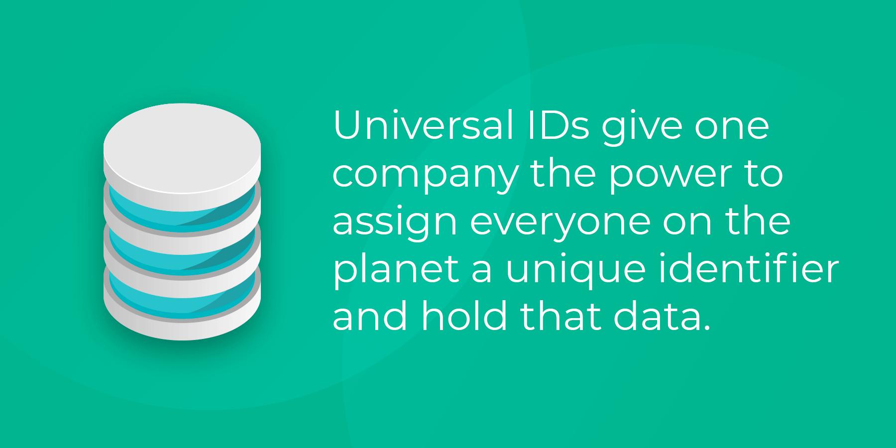 The pitfalls of a Universal ID?