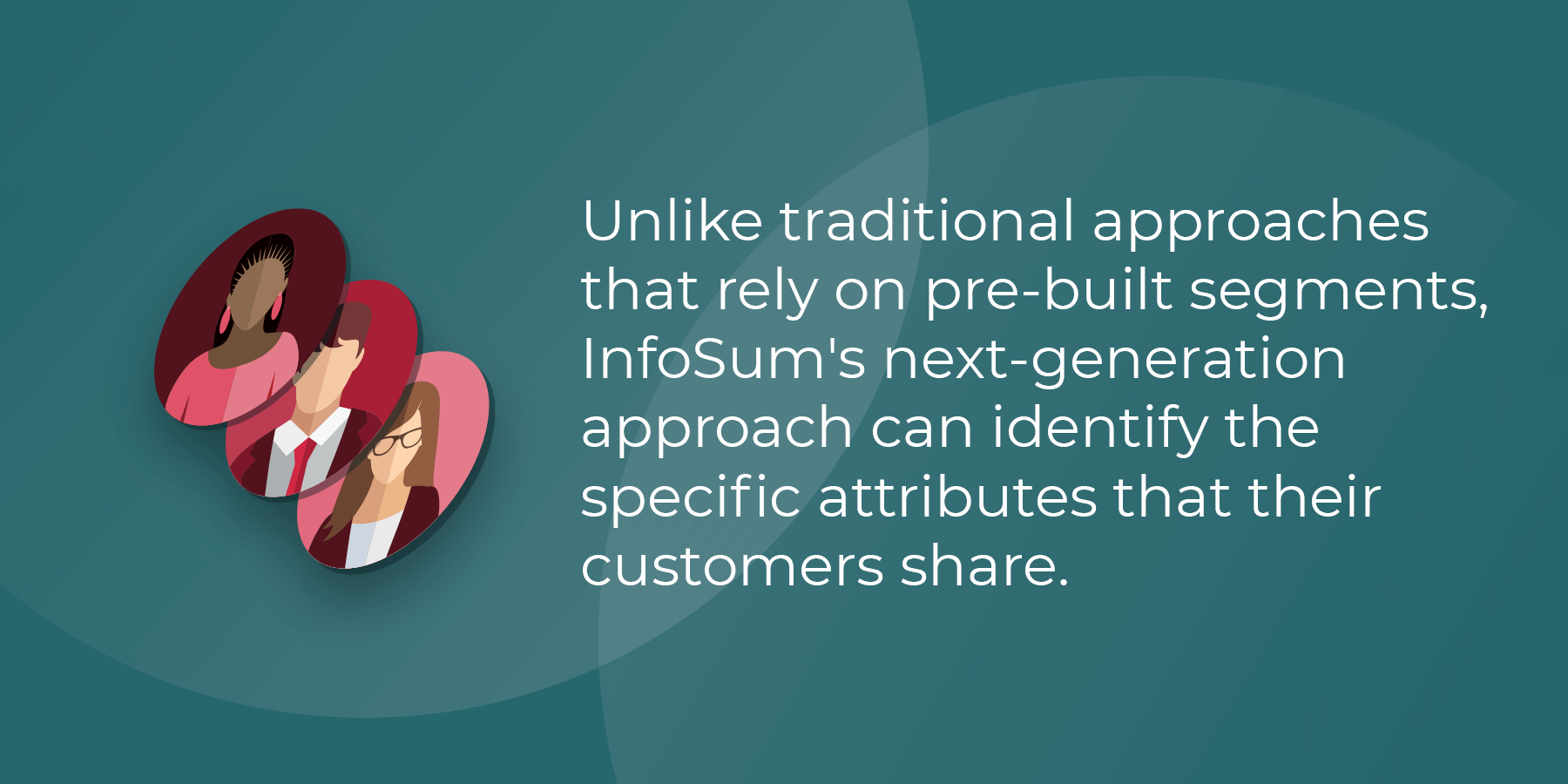 InfoSum's next-generation approach can identify the specific attributes that their customers share