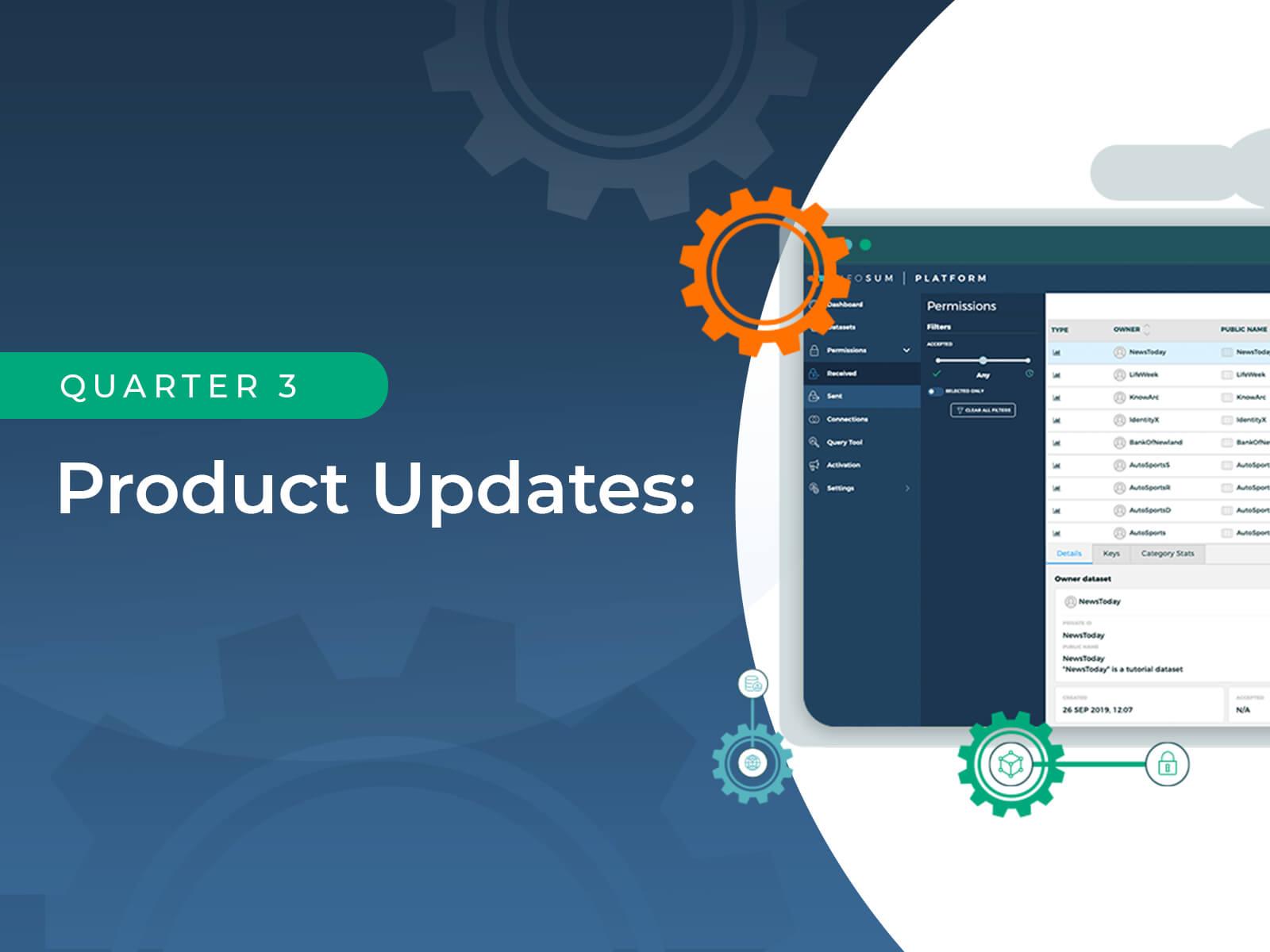 Product Updates - Q3 2020