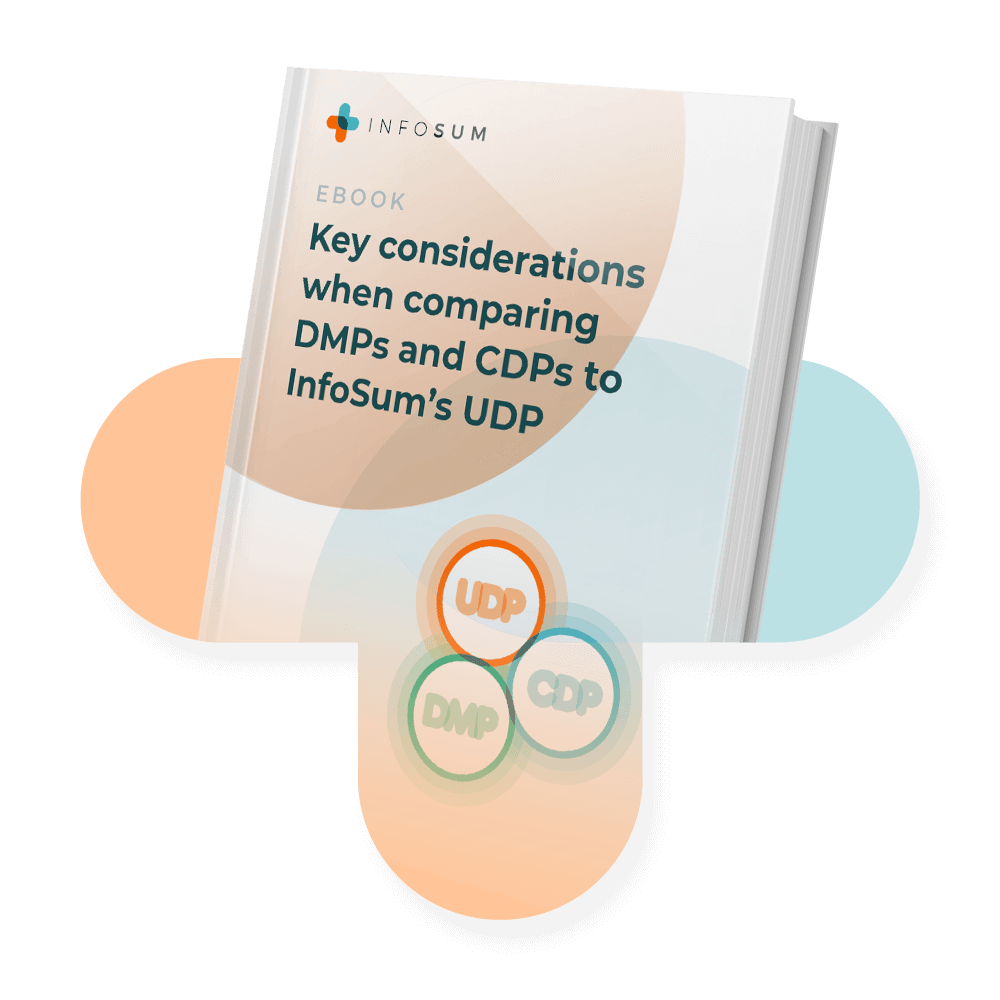 Key considerations when comparing DMPs and CDPs to InfoSum's UDP