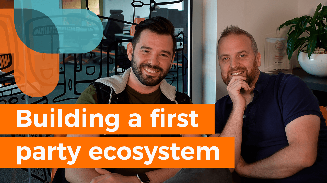 Building a first-party ecosystem