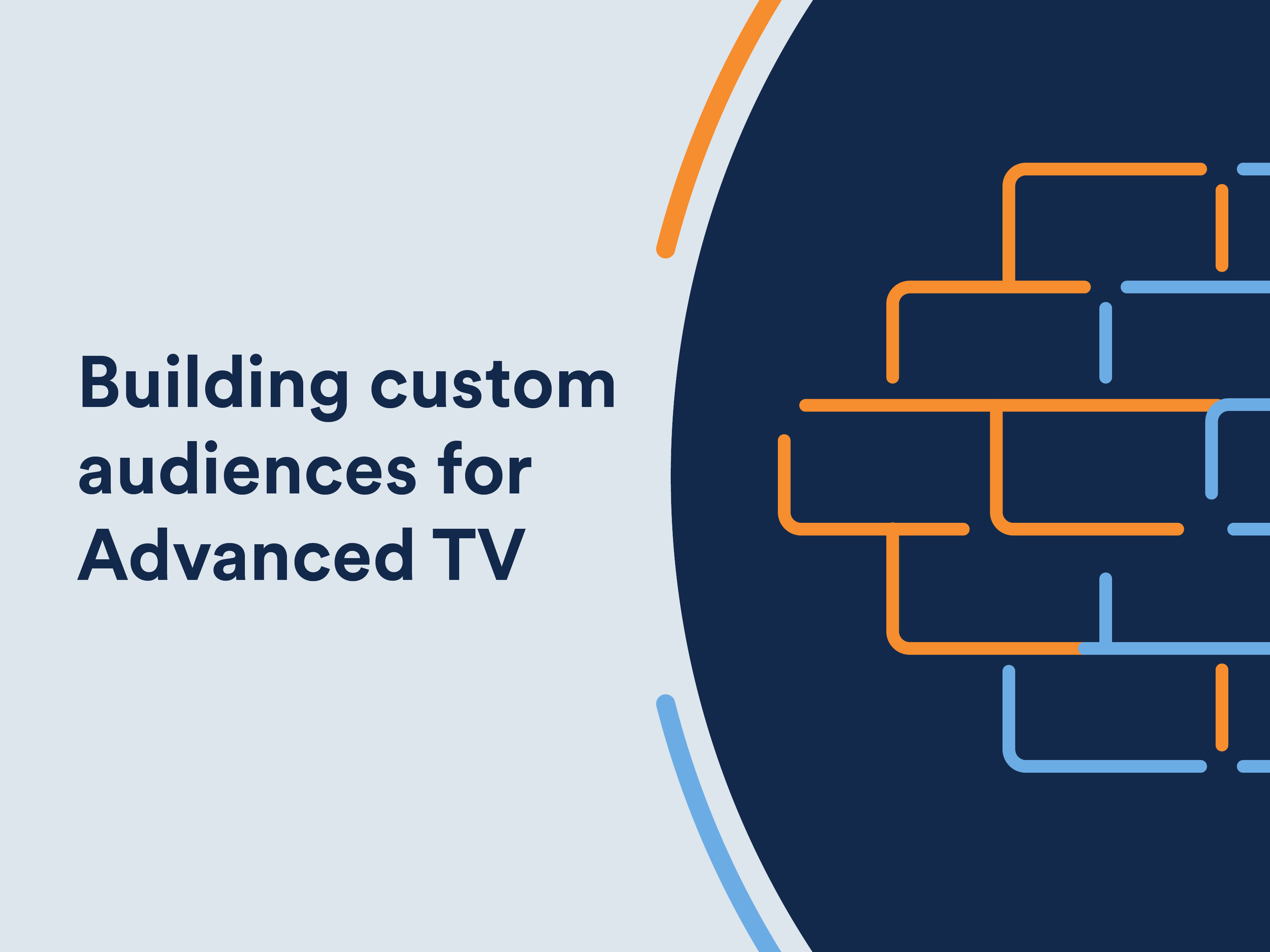Infographic: Building custom audiences for advanced TV