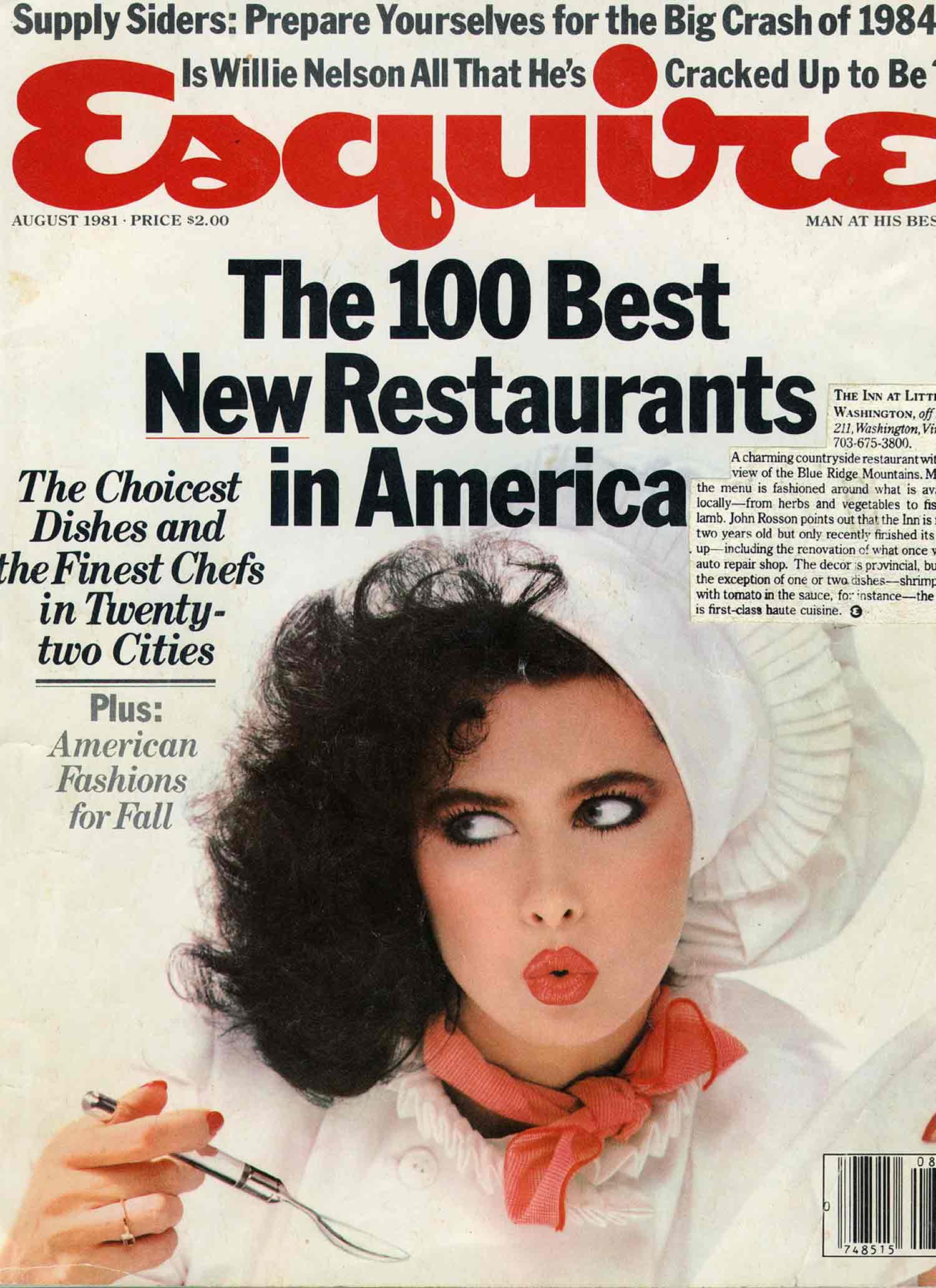 Esquire magazine in the 80's.