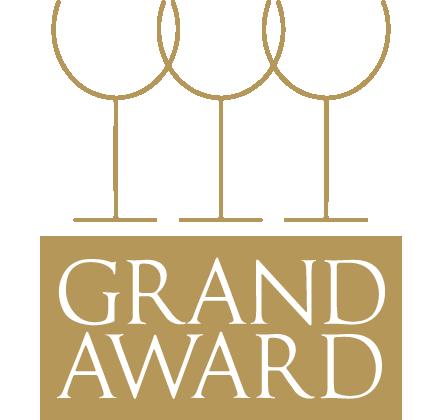 Wine Spectator Grand Award logo.