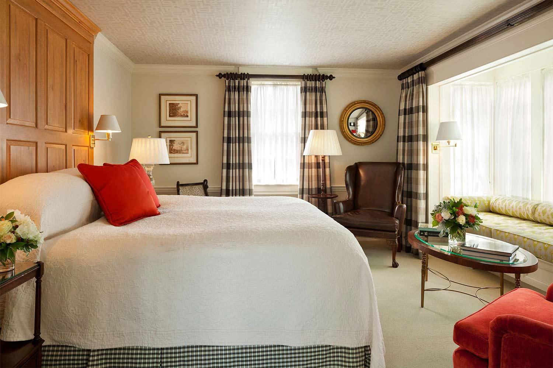 The bedroom in Room 14.