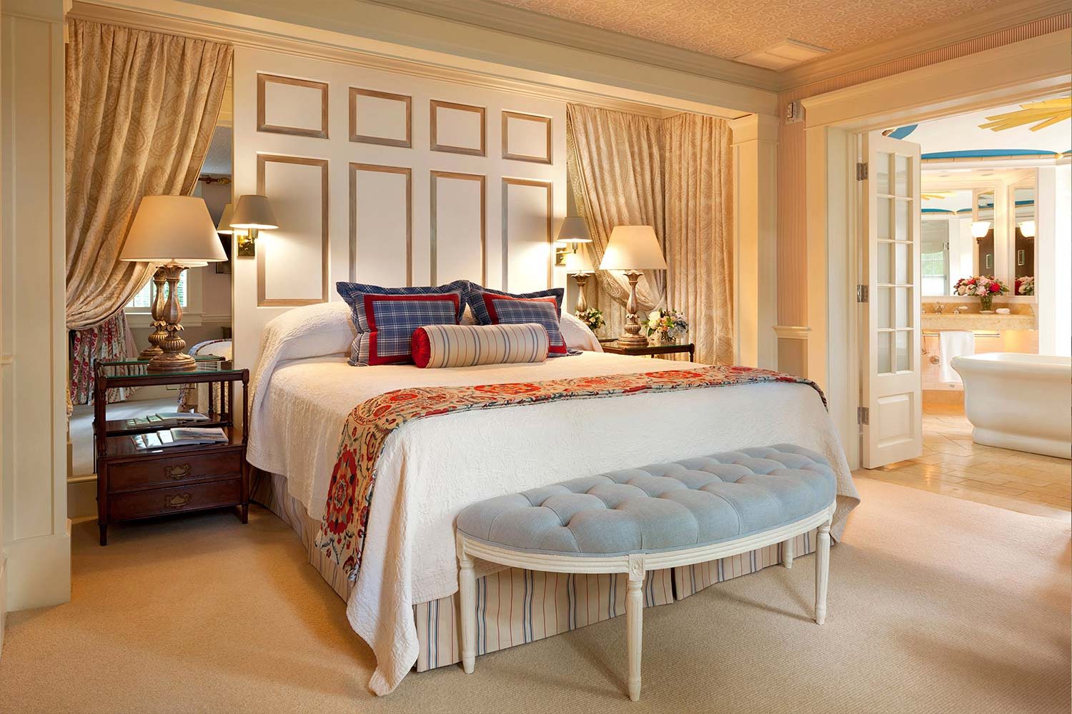The master bedroom of room 15.