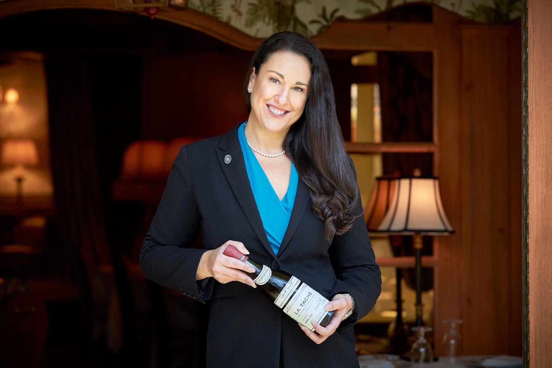 Director of Wine, Lindsay Fern.