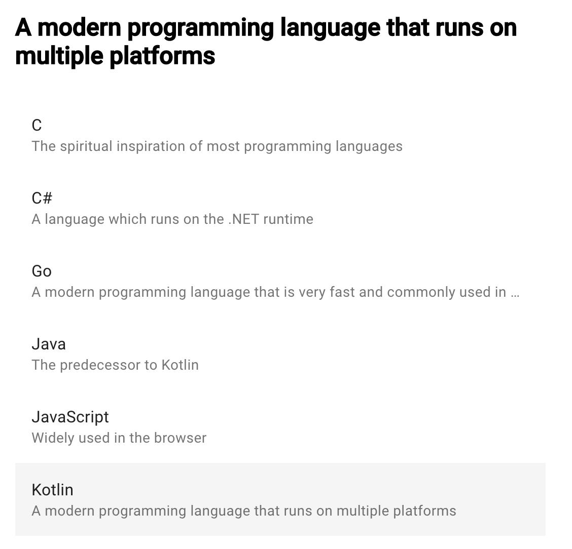 ReactJS app built with Kotlin Multiplatform