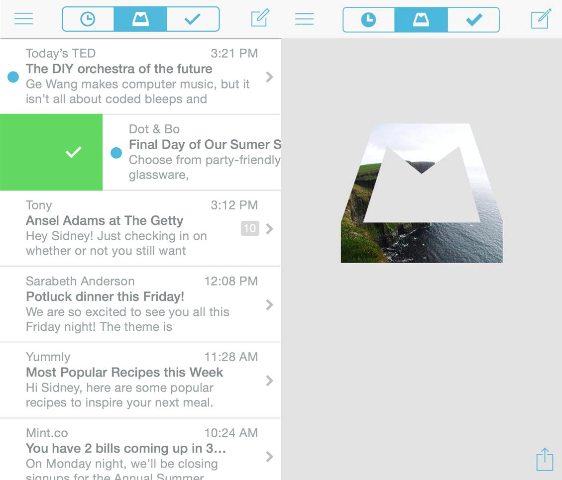 Mailbox interface