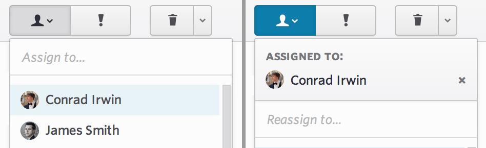 assign errors